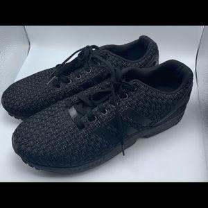 Adidas Torsion ZX Flux Black Sneakers Men's 10.5